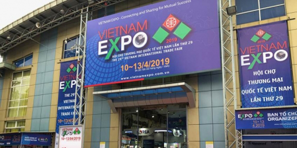 VIETNAM EXPO 2019: 'Enhance global and local economic links'