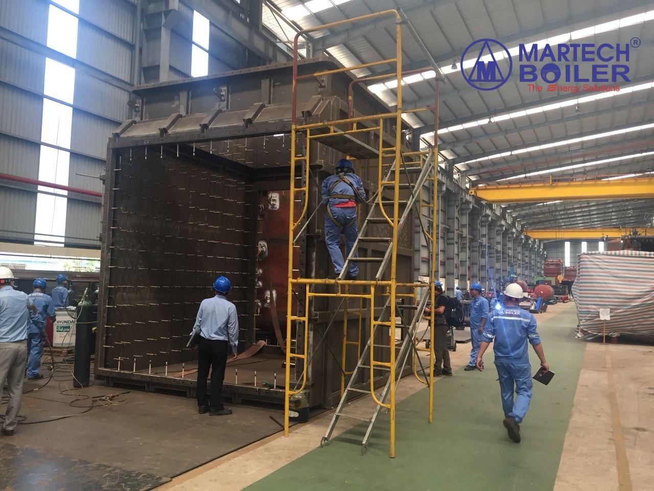 Thi công chế tạo hệ thống Bypass tại nhà máy Martech