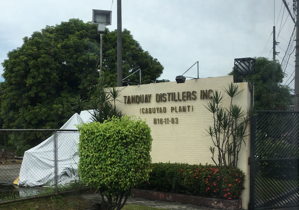 TANDUAY DISTILLERS INC. PHILIPPINES