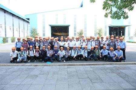 Sinh Viên ĐHBK TPHCM hào hứng tham quan thực tế nhà máy Martech
