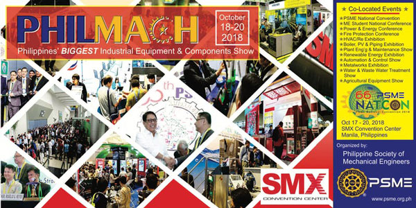 Maretch Boiler Joint The Philippine Machinery Exhibition of PHILMACH