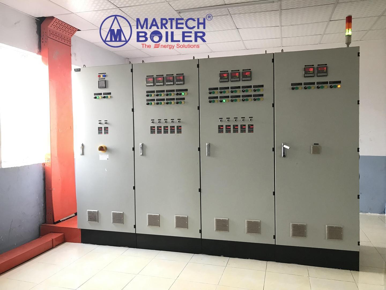 Hệ thống tủ điện điều khiển lò dầu